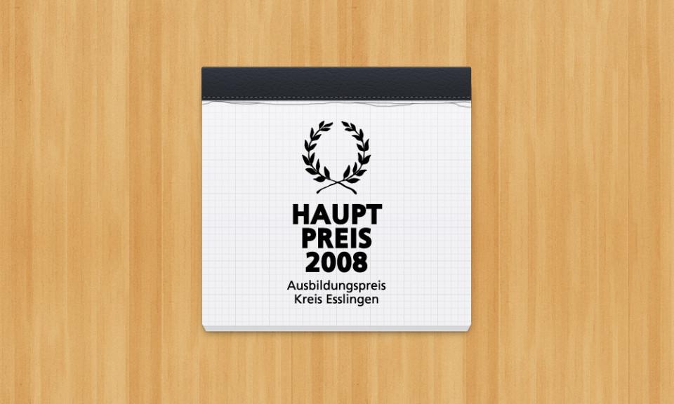 Ausbildungspreis 2008