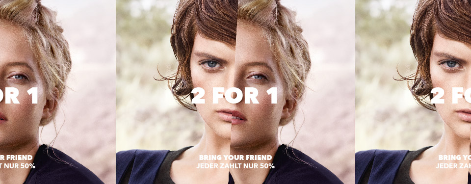 Aktion: 2 FOR 1